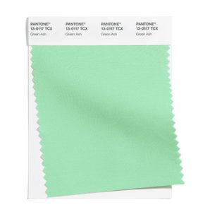 PANTONE 13-0117 Green Ash 灰濛綠:薄荷感的綠色,清涼撫慰。