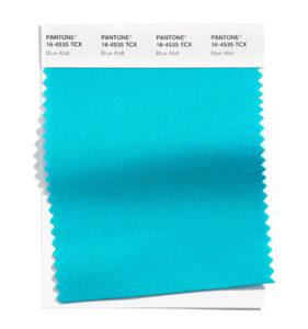 PANTONE 16-4535 Blue Atoll 藍色環礁:藍色環礁讓人想起大海中的熱帶島嶼。