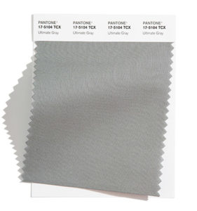 PANTONE 17-5104 Ultimate Gray 終極灰:安穩可靠的灰色顯得泰然自若。