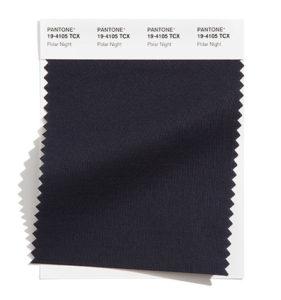 PANTONE 19-4105 Polar Night 極地夜藍:一種深沉寧靜的暮光之藍。