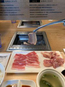 一個人也能吃烤肉