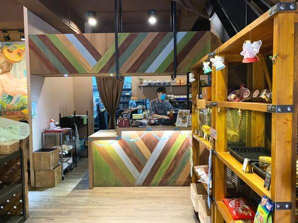 多一點咖啡 文化館 1F環境