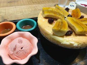 多一點咖啡 舒芙蕾鐵鍋熱蛋糕 佐莫凡彼冰淇淋