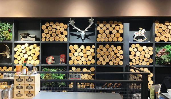 多一點咖啡 文化館 2F餐點回收區