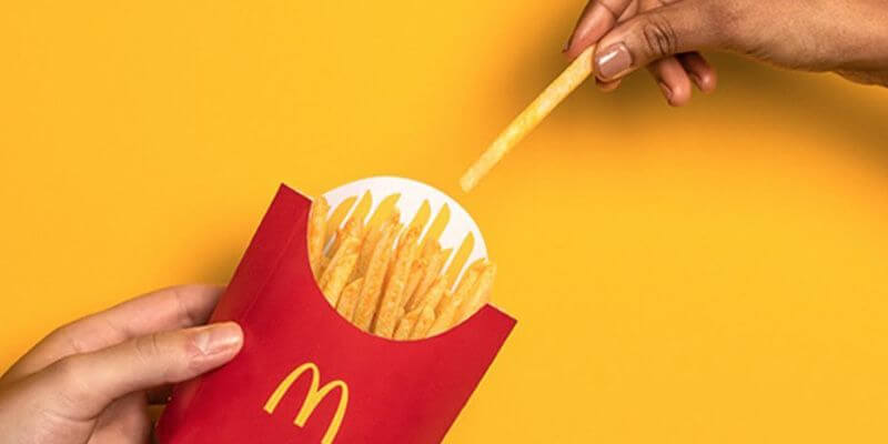 2021年 麥當勞包裝新設計 簡約風格 創造美好時光