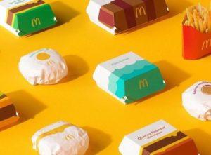 麥當勞 全球新包裝